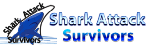 Shark Attack Survivors logo for shark attacks