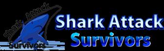 Shark Attack Survivors logo for shark attacks